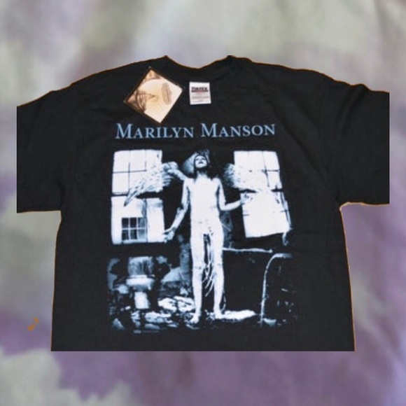 Other - RARE VINTAGE 1990s MARILYN MANSON SHIRT